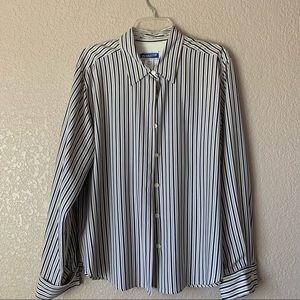 Pendleton women's dress shirt 100% Silk